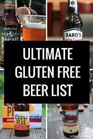 is bud light gluten free gluten free beer list the ultimate guide