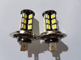 audi a6 fog light bulb audi a6 2005 2011 2x h7 27 smd led headlight fog light bulbs bulb ebay