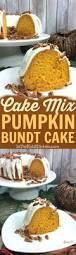 recetas para thanksgiving cake mix pumpkin bundt cake receta recetas para cocinar
