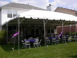 tent rental chicago chicago illinois backyard party tents rent backyard party tents