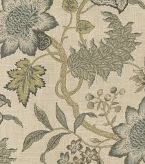 waverly upholstery fabric jacobean flair vermeil jacobean