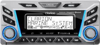 clarion m606 multi zone marine digital media receiver with