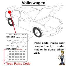 vw paint chip scratch touch up shadow blue ld5q ebay