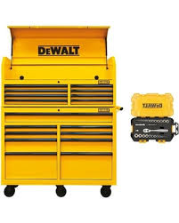 Rolling Tool Cabinet Sale Holiday Deal On 52 In Steel Tool Chest Cabinet Combination Yellow