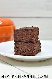 flourless pumpkin brownies vegan gluten free my whole food life
