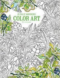 amazon jungle wonders color art leisure arts