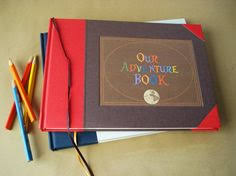 personalized scrapbook cover custom our adventure book up the adventure wedding travel