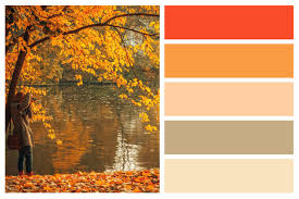 fall color pallette fall color palettes for interior home painting central sound