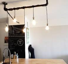 Ampoule Deco Filament Diy Du Luminaire à Ampoules à Filaments Réalisé à Partir De Tuyaux
