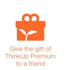 send a gift want to be happier give more give better with think
