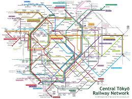 Metro Train Map Tokyo Metro Map Tokyo U2022 Mappery