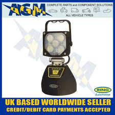 rechargeable magnetic work light rcv9605 rechargeable magnetic mount led work l light