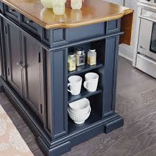 Black Distressed Kitchen Island by Kitchen Island Black And Distressed Oak Homestyles