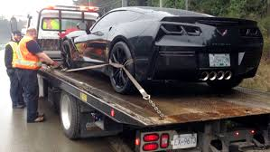 blacked out tail lights legal dark window tints sends this c7 corvette to a canadian impound lot