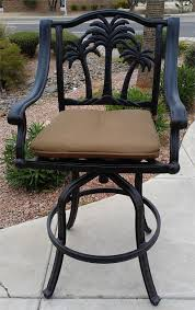 Patio Bar Furniture Clearance by Finding Best Outdoor Swivel Bar Stools Today
