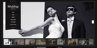 best wedding album website the best themes for wedding websites pixelpush design