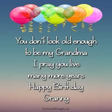 birthday wishes for grandma occasions messages
