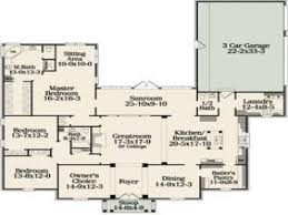 100 one story floor plans 5 bedroom one story house plans