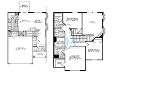 Dr Horton Cambridge Floor Plan Butterfield Model In The Cambridge Lakes Subdivision In Pingree