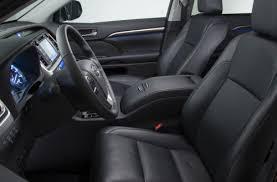 Toyota Highlander Interior Dimensions Toyota Us Car Exporters