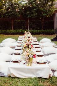 bohemian backyard dinner party featured in camille styles u2014 meg
