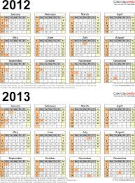 thanksgiving day 2012 usa 2012 2013 calendar free printable two year excel calendars