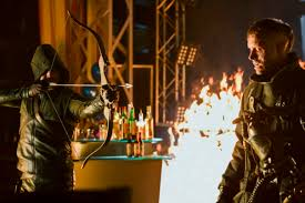 Seeking Season 1 Episode 10 Arrow Season 1 Episode 10 Review Burned Sidekick Reviews
