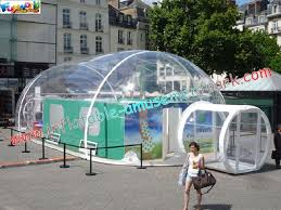 Transparent Tent Large Advertising Inflatable Party Tent Transparent Airtight Tent