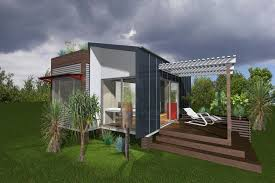 unique container home design with eco friendly and easy to build