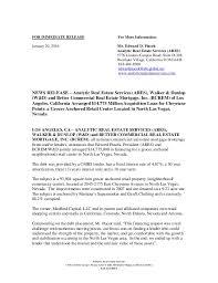 press release north las vegas mortgage financing 10 20 16