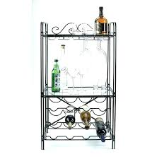 metal wine rack table wine racks glass and wine rack glass top wine rack table wine