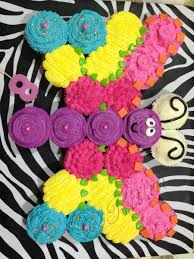 Kittins Butterfly Pull Apart Cupcakes Sweet Pegs Pinterest - Pull apart cupcake designs