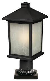 outdoor pier mount lights andover mills stevens outdoor 1 light pier mount light reviews
