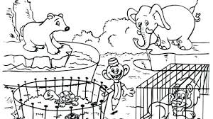 zoo coloring pages preschool zoo coloring pages zoo animals coloring page preschool coloring