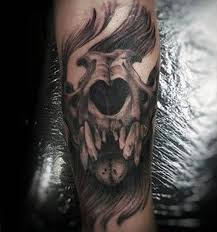 60 lion skull tattoo designs for men big cat ink ideas