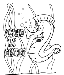 dental halloween coloring pages coloring page