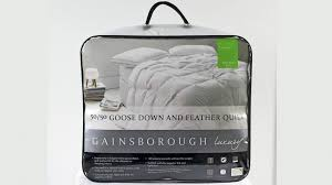 the seasons collection light warmth white goose down comforter gainsborough all seasons 50 50 goose down and feather queen quilt