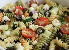www garlicrecipes ca greek garlic u0026 dill dressing pasta salad