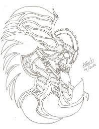 viking tattoo designs for women cool outline viking tattoo 4m