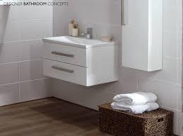 aquatrend white designer bathroom vanity unit cv29242 000