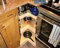 Corner Cabinet Solutions In Kitchens Corner Cabinet Studies Dead Space Spaces And Kitchens
