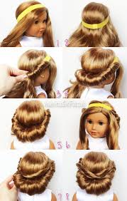 updos for long hair i can do my self 67 best american girl doll hairstyles images on pinterest