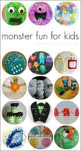 15 halloween monster activities for kids