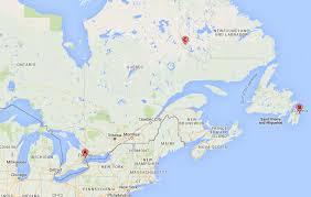 map east coast canada east coast canadian trip stash matters