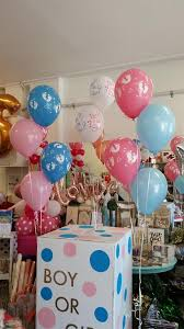 gender reveal balloons in a box gender reveal celebrations party supplies auckland pixie party