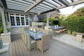 hampton bay outdoor lighting deck traditional with bbq glass doors