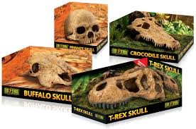 exo terra skull hide out decoration terrarium reptile amphibian