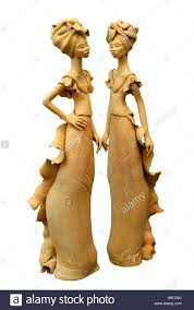 figurative figurative african female women form stand standing tall thin