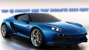 concept cars top 15 concept cars that should u0027ve been made drivetribe