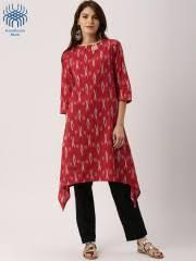 Design House Kurta Online Ikat Kurtas Buy Ikat Kurtas Online In India